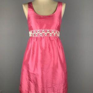 Vineyard Vines Pink Silk Bermuda Dress